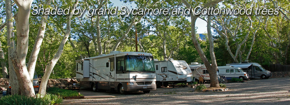 Sedona Arizona RV Parks and Sedona Resorts and Sedona